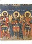 Byzantinisch. Michael/Gabriel/Raffael. Rumänisch. KK