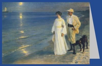 Peder Severin Krøyer. Der Künstler und seine Frau, 1899