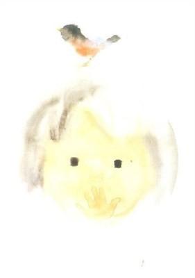 Chihiro Iwasaki. Der Vogel und das kleine Mädchen,1971. KK