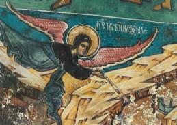 Byzantinisch. Engel. Rumänisch. KK