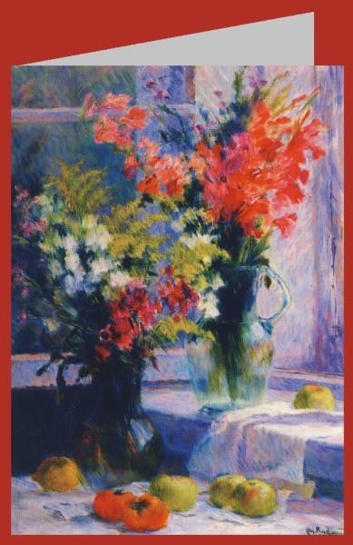 Lebedew, Wladimir Wassiljewitsch. Blumen in einer Vase