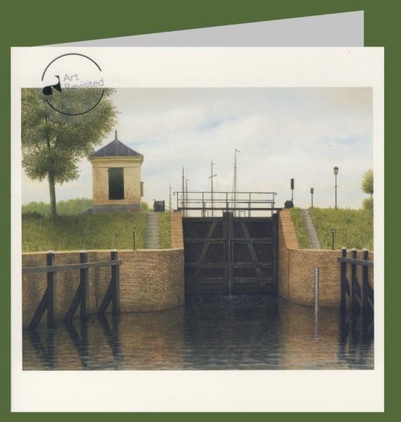 Hart, M. Schleuse in Katerveer, 2007. 15x15-DK