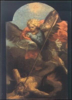 Guido, Reni. St. Michael überwindet Satan. KK