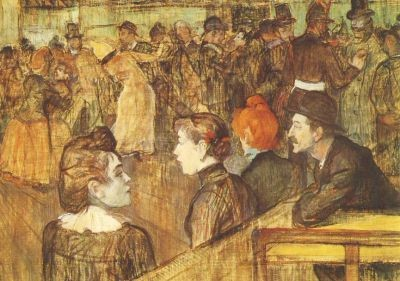 Henri de Toulouse-Lautrec. Mühle bei La Galette