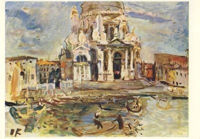 Kokoschka, O. Venedig, Sta.M.d.Salute. KK