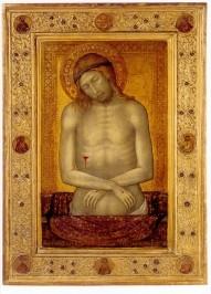 Ceccharelli, Naddo. Christus als Schmerzensmann, ca. 1347.KK