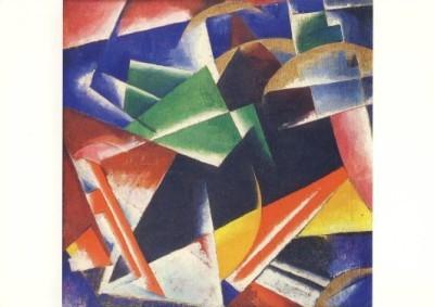 Popowa, Ljubow. Komposition, um 1918