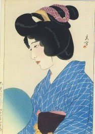 Shuho, Yamakawa. Schemering/Twillight, 1928. KK
