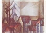Lyonel Feininger. Teltow II. KK
