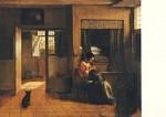 Pieter de Hooch. Mutterpflichten