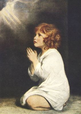 Reynolds, J. Das betende Kind (Samuel). KK