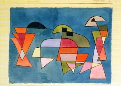 Paul Klee. Segelschiffe, 1927