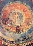 Romanisch. Mikrokosmos des Menschen, XIII. Jh. KK