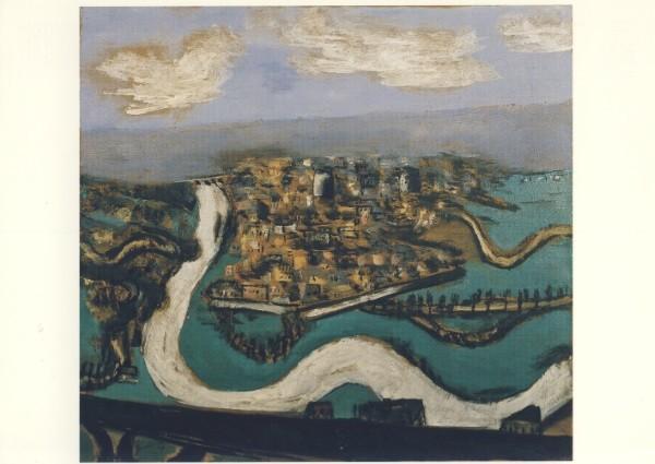 Max Beckmann. Landschaft bei Saint-Germain, 1930