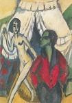 Ernst Ludwig Kirchner. Das Zelt, 1914. KK