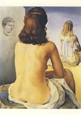 Salvador Dali. Meine nackte Frau... 1945