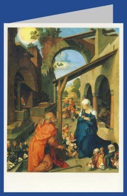 Albrecht Dürer. Geburt Christi. Paumgartner Altar. DK