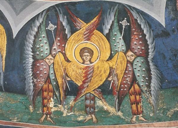 Byzantinisch. Seraphim. Rumänisch. KK