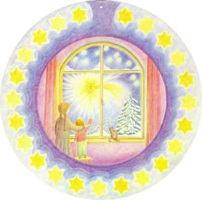 Almut Hewel. Sternenkalender. Adventskalender