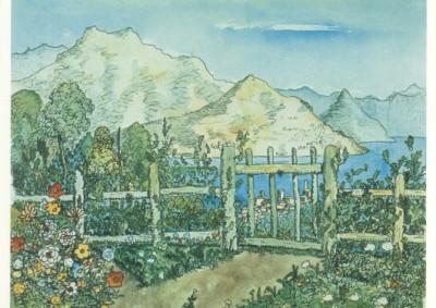 Hermann Hesse. Meine neugepflanzte Hecke, 1931