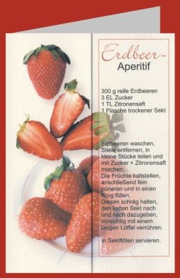 Breyer. Erdbeer-Aperitif. DK