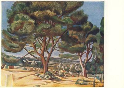 André Derain. Die Große Pinie