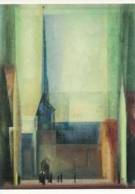 Lyonel Feininger. Gelmeroda, 1926. KK