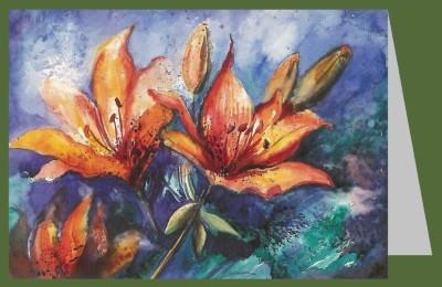 Wolfram Paul. Feuerlilien, 1997