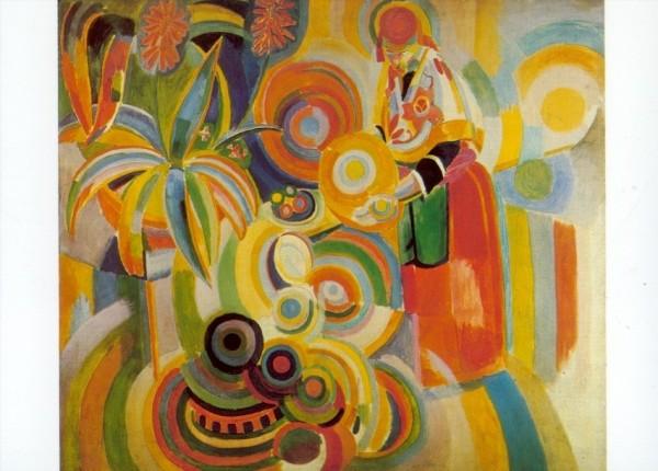 Robert Delaunay. La grande Portugaise, 1916. KK