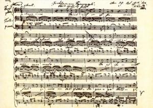 Schubert, Franz. Gretchen am Spinnrad. KK