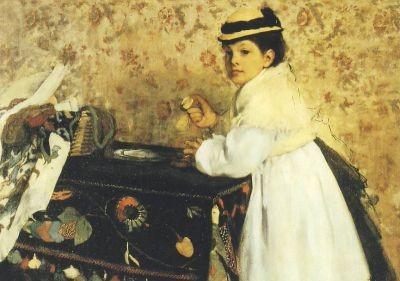 Edgar Degas. Hortense Valpincon, 1889. KK