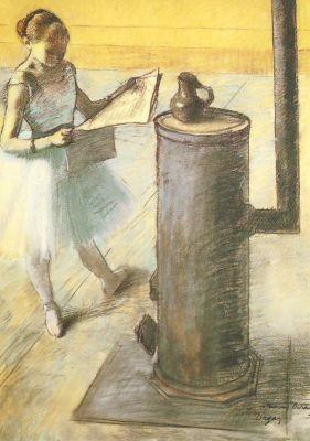 Edgar Degas. Ruhepause
