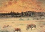 Camille Pissarro. Winterlandschaft