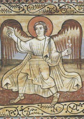 Zilliser Bilderecke. Der Engel und Josef