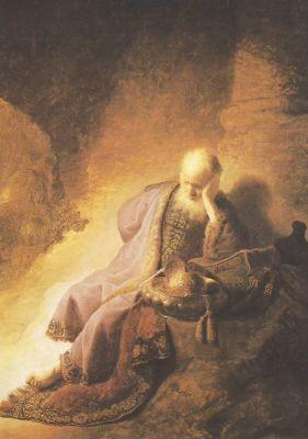 Jeremias tr.u.d.Zerst.Jerus.Rembr.