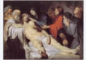 Peter-Paul Rubens. Die Beweinung Christi, ca. 1613/14. KK