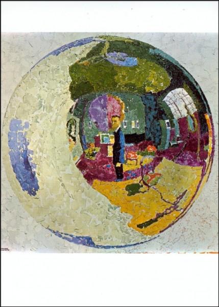 Giacometti, Augusto. Die Glaskugel, 1910. KK