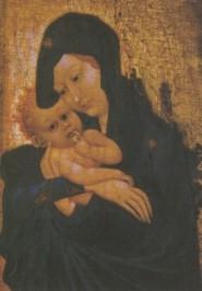 Madonna mit Kind, 15. Jh. KK
