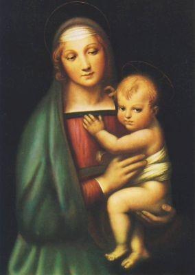 Madonna del Granduca, Raffael