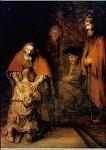 Rembrandt. Heimkehr des verlorenen Sohnes. KK