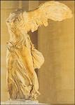 Die geflügelte Siegesbotin Nike von Samothrake,3.Jh.v.Chr.KK
