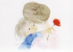 Chihiro Iwasaki. Mutter und Kind, 1972. KK
