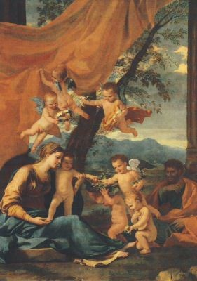 Nicolas Poussin. Die Heilige Familie