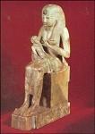 Aegyptisch. Isis stillt den Horus. KK
