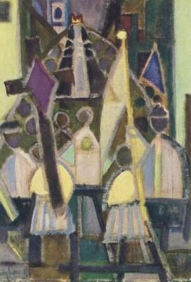 Eduard Bargheer. Prozession (1957)