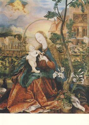 Grünewald, M. Stuppacher Madonna, um 1520. KK