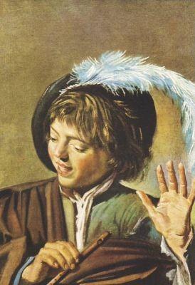 Hals, F. Singender Knabe mit Flöte,