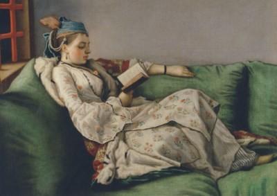 Jean-Etienne Liotard. Marie Adélaide im türkischen Kostüm