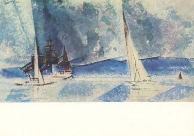 Lyonel Feininger. Blaue Küste. KK