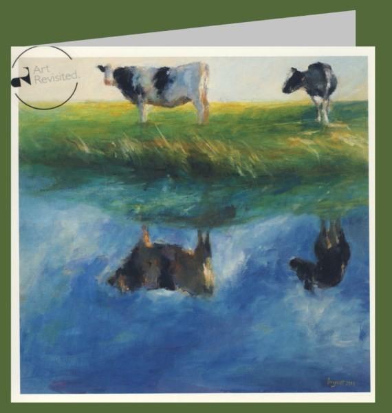 Boogaart, D. Reflection, 2004. 16x16-DK
